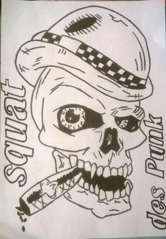 Le Squat des Punk !!
