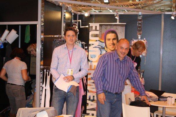 Un petit tour au Pays Bas sur le stand de FUNDERWEAR choix et démonstration des collections