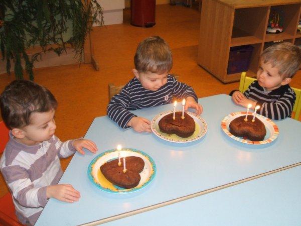 8 janvier 2013 : 2 ans à la Halte Garderie près de St Malo