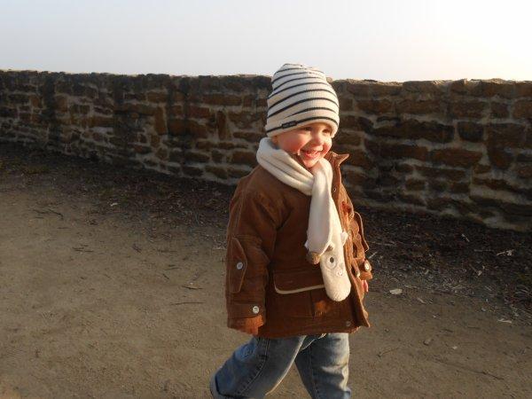 3 mars 2013 : 1ère ballade depuis notre arrivée dans le morbihan