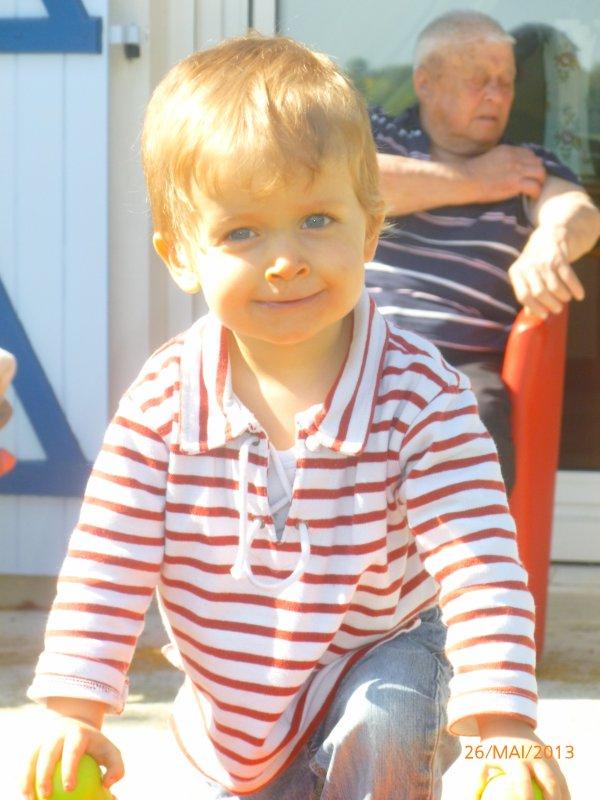 26 mai 2013 : Visite surprise en Normandie pour l'anniversaire de Papi