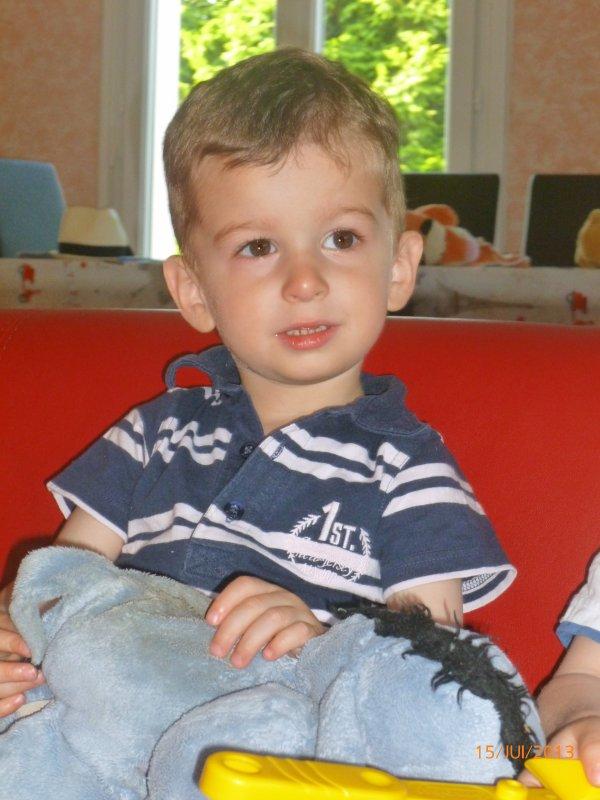 15 juillet 2013 : Ylan 30 mois