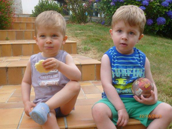 22 juillet 2013 : Alex et Léo