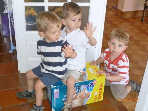 30 août 2013 : Alex, Ylan et Léo