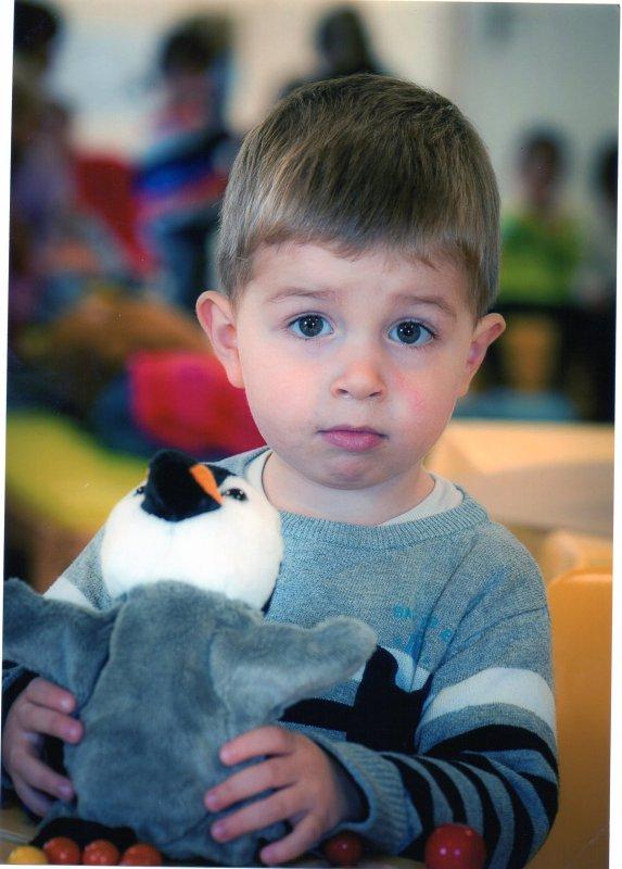 17 octobre 2013 : Photos de classe TPS 2 ans et 9 mois Ylan, Alex et Léo