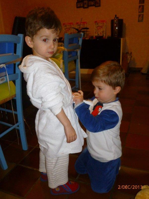 2 Décembre 2013 : Ylan et Léo