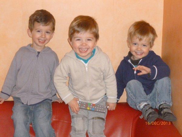 16 décembre 2013 : Ylan, Léo et Alex