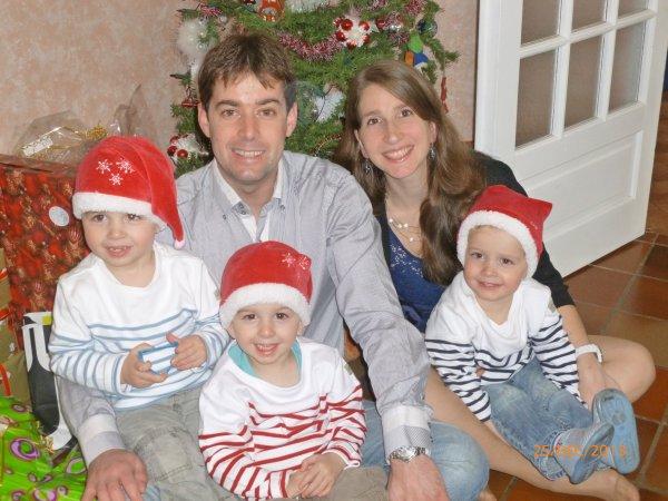 25 décembre 2013 : Noël à la maison pour la 1ère année depuis les 9 ans que nous sommes en couple