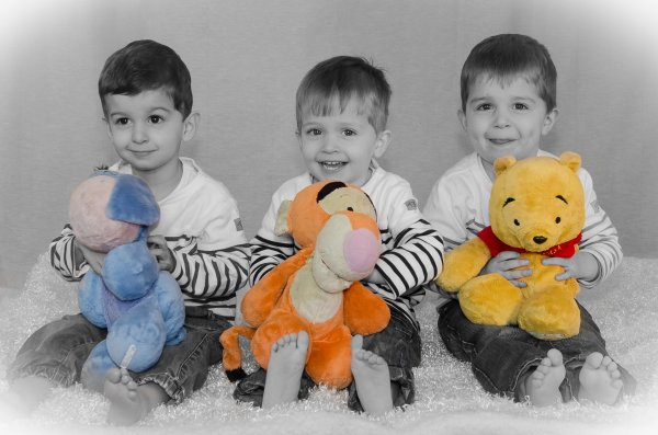 18 janvier 2014 : Séance photo pour leur 3 ans