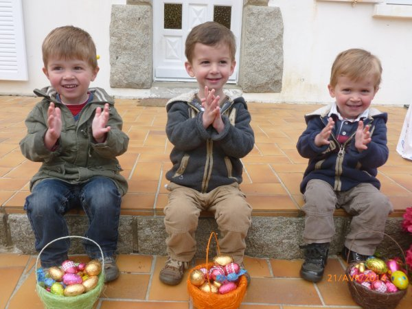 21 avril 2014 : Pâques à la maison