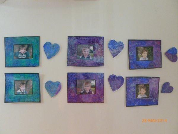 """28 mai 2014 : cadeau de l'école pour la """"fête des parents"""""""