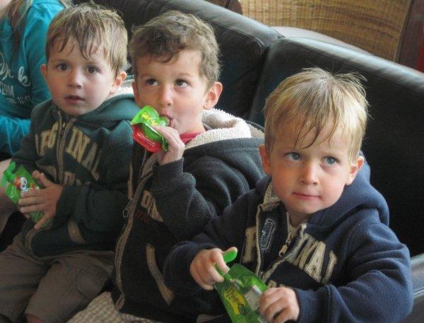 20 août 2014 : Léo, Ylan et Alex