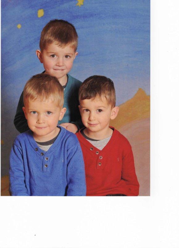 Novembre 2014 : Léo, Alex et Ylan PS 3 ans et 10 mois