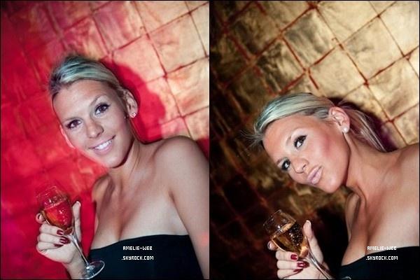 Amelie c'est rendu à la soirée ixo club.