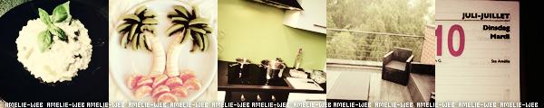De nouvelle photo d'amélie via twitter