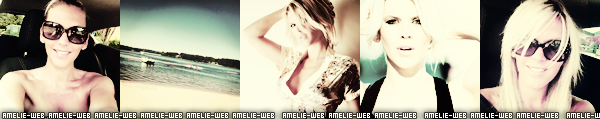 Nouvelle photo d'amélie