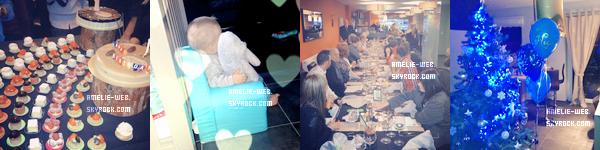Amelie et les anges+l'anniversaire d'Hugo