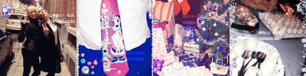 Les photo du réveillons de Noël d'Amelie.