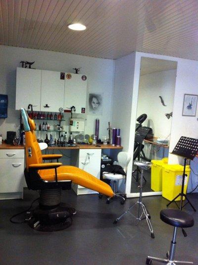 Le salon.