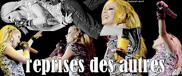 thebest-avril Toutes les chansons que Avril a fait en dehors de ses albums qui sont disponible et les reprises qu'elle a fait. Cliquer sur les étoiles pour écouter les chansons! :) Vous avez des préférences?