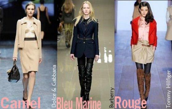 2 - Colorama de la Saison !! Khaki , Rouge , Bordeaux , Bleu marine Officier , Nude et Camels !!