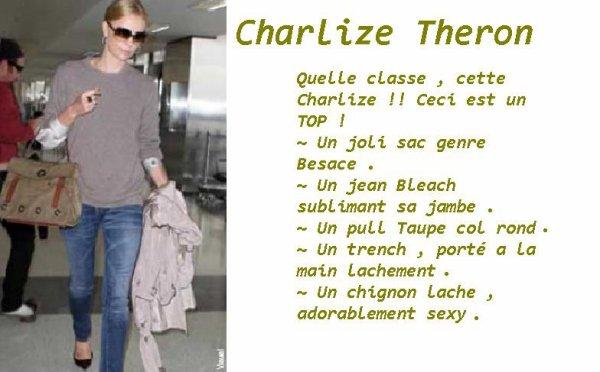 TOP GIRL : CHARLIZE THERON .