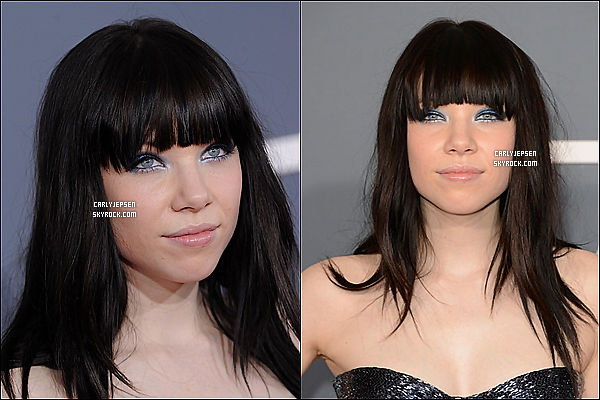 .  10 Février 2013 : Carly Jepsen à été vue aux 15Th Annual GRAMMY AWARDS. ( Los Angeles ) .