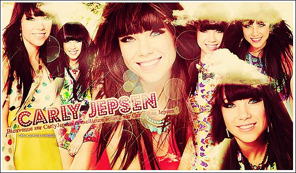 ♦♦ Bienvenue sur CarlyJepsen, Ta nouvelle source sur la magnifique Carly Rae Jepsen.