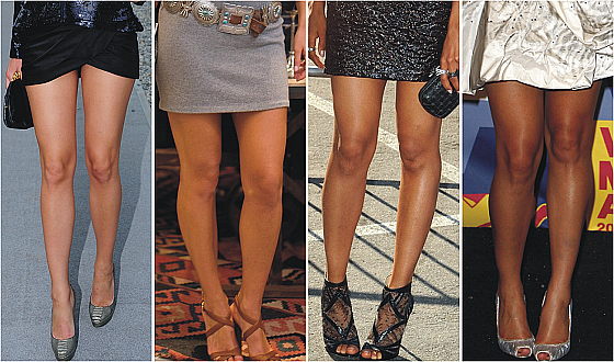 De belles jambes pour l'été.