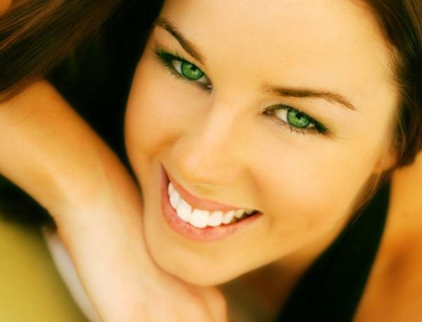 Le maquillage des Yeux Vert