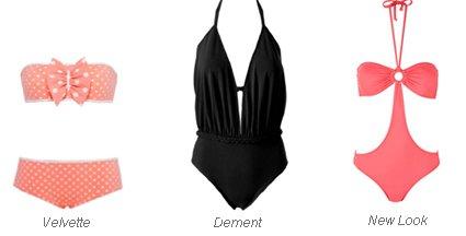 Le bon maillot de bain pour l'été 2012 !