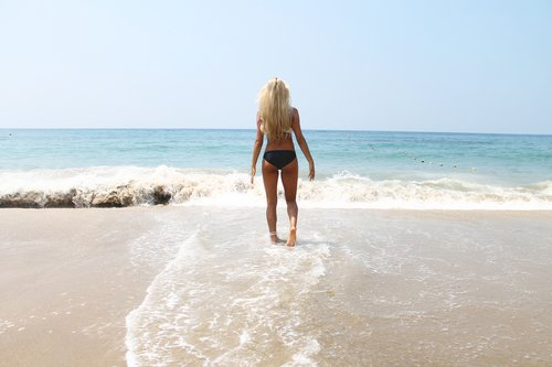 Comment sortir de l'eau en beauté ?