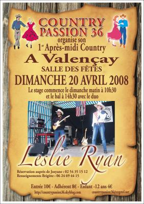 MATINEE COUNTRY à VALENCAY (1ere)