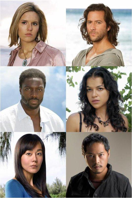 Lost : Les Disparus*****Shannon, Desmond, Eko, Ana-lucia, Sun ou Miles
