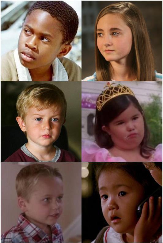Ils sont jeunes*****Walt, Kayla, Aaron, Juanita, M.J. ou Ji Yeon