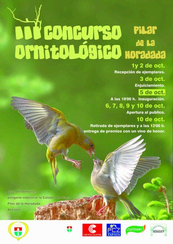 III Concurso Ornitológico Pilar de la Horadada
