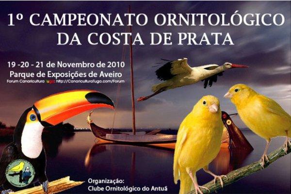 I Campeonato Ornitológico de Costa de Prata (Portugal)