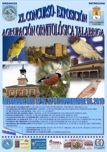 XL CONCURSO EXPOSICIÓN DE TALABRIGA