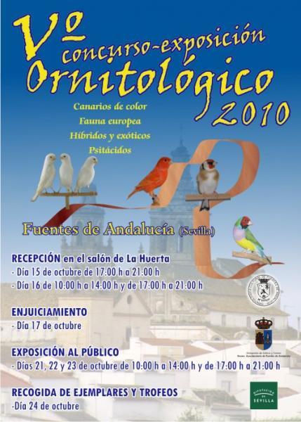 V Concurso Exposición de Fuentes de Andalucía (Sevilla)