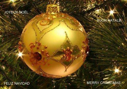 FELIZ NAVIDAD- BUON NATALE-MERRY CHRISTMAS-JOYEUX NOËL