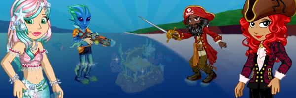 Sirène VS Pirates : La guerre