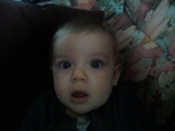 voici mon petit fils  loucas il a 8 mois et 2 dent tu es trop beau on t aime mamie papi et tontons