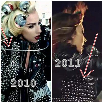 Elvana Gjata kopjon Lady Gaga ( Jaknen )