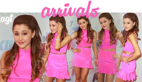 11/05/13 Ariana était au KIIS FM Wango Tango à Carson en Californie