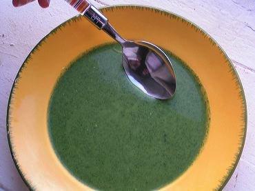 La soupe d'ortie