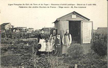 Des jardins ouvriers aux jardins familiaux ...