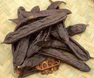 La gousse de caroube,chocolat,à croquer de Turquie