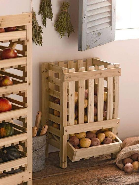 idées pour le jardin fabrication avec des palettes de récupération