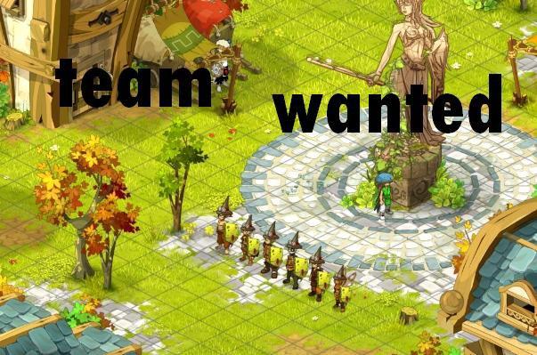 teaam wanted