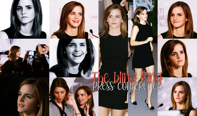 ₪ 16 Mai 2013 ~ The Bling Ring Photocall / Presse Conference / Le Grand Journal